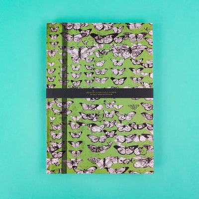A4 Luxury Notebook with Butterflies