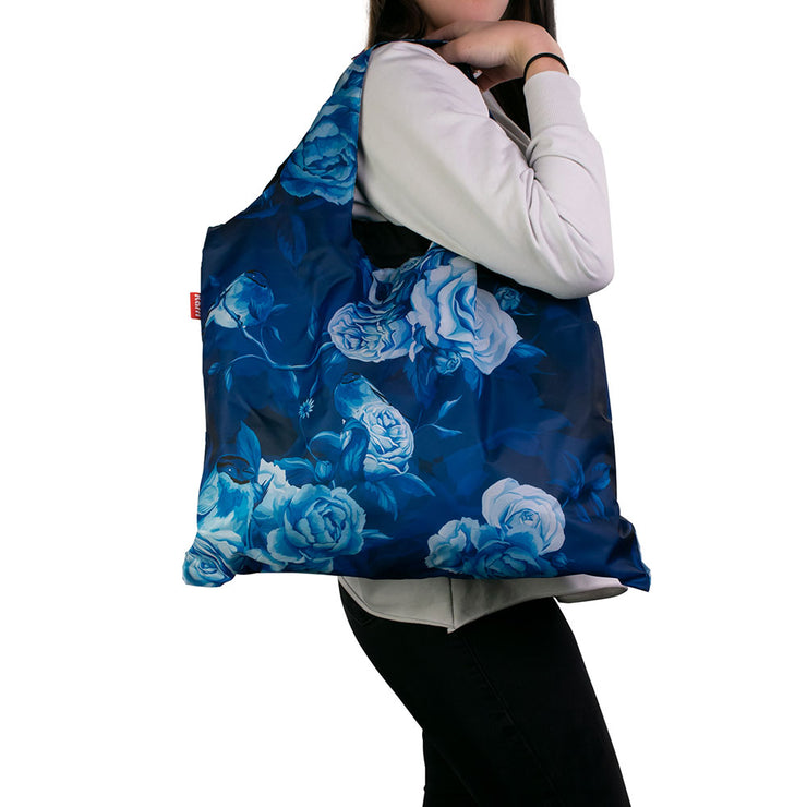 Karri Reusable Shopping Bag - Blue Rose - KA11