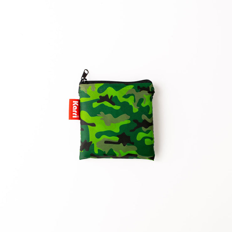 Karri Reusable Shopping Bag - Green Camo - KA12
