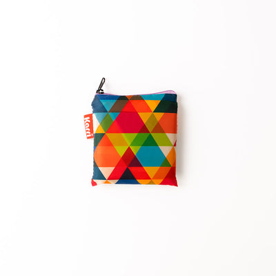 Karri Reusable Shopping Bag - Triangles