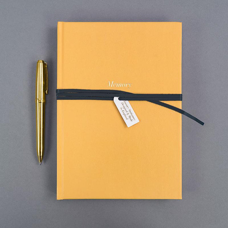Soul Luxury A5 Notebook Mustard