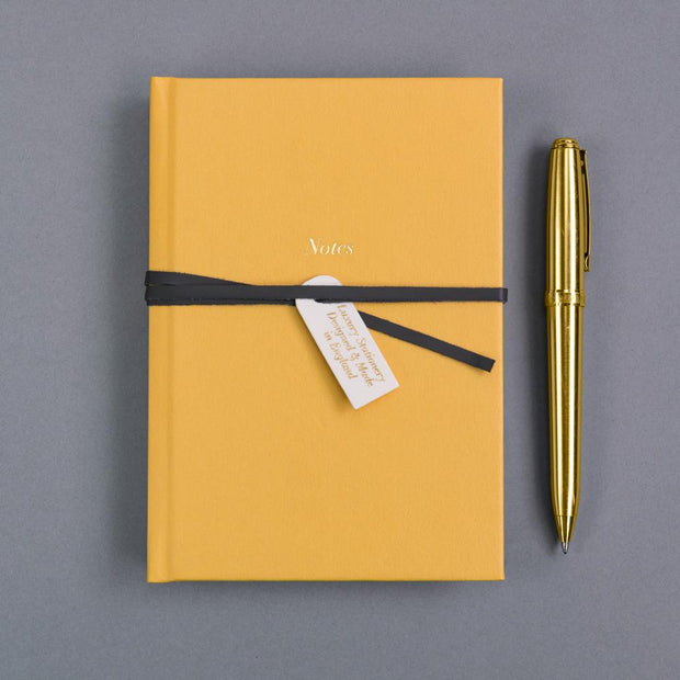 Soul Luxury A6 Notebook Mustard
