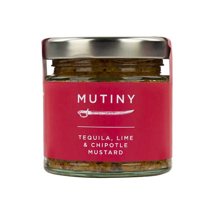 Tequila, Lime and Chipotle Mutiny Mustard