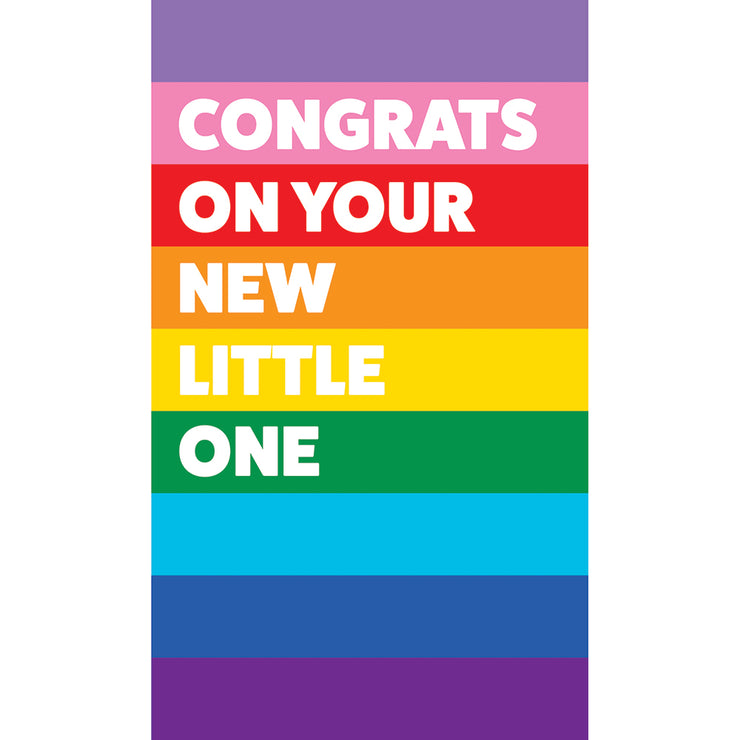 New Baby Card - PRIDE02