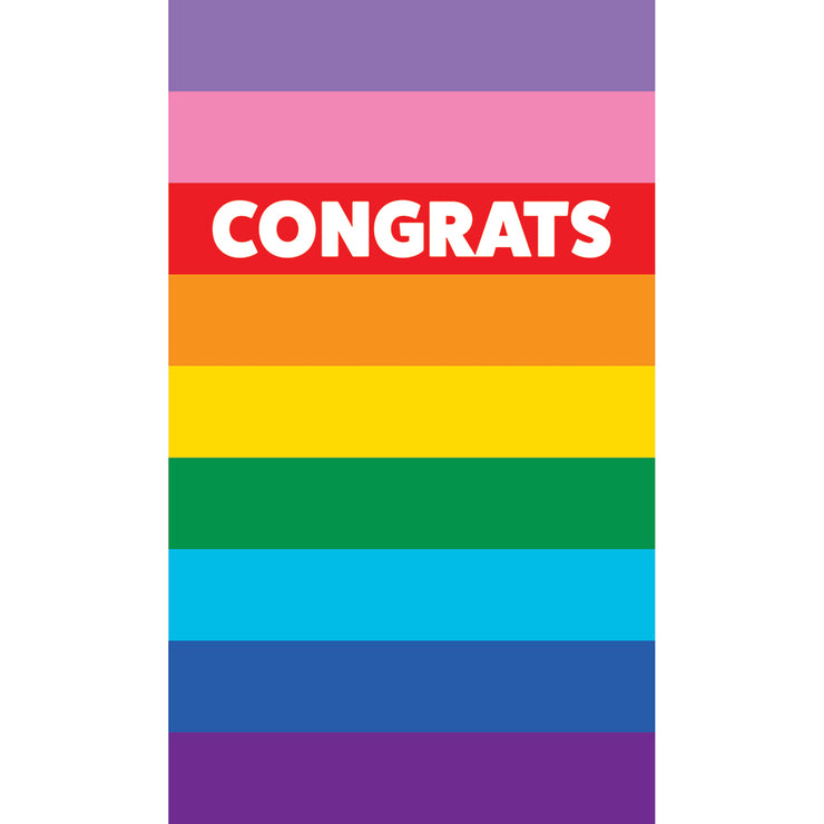Congratulations Card - PRIDE 04