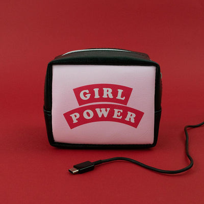 Girl Power Charger Bag