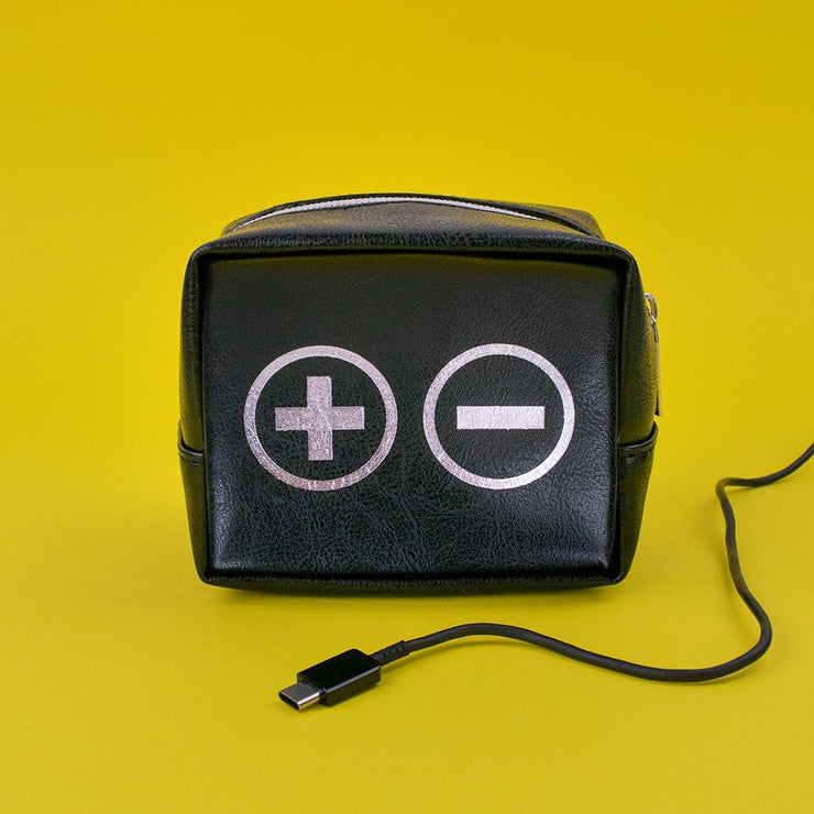 Plus/Minus Charger Bag