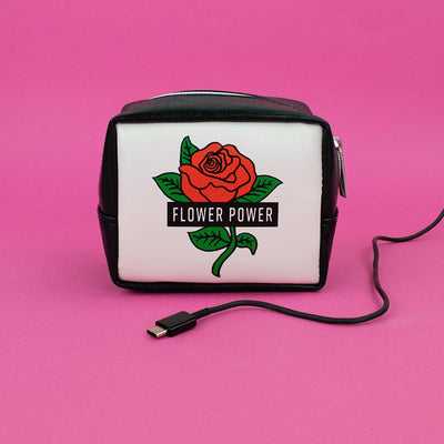 Flower Power Charger Bag