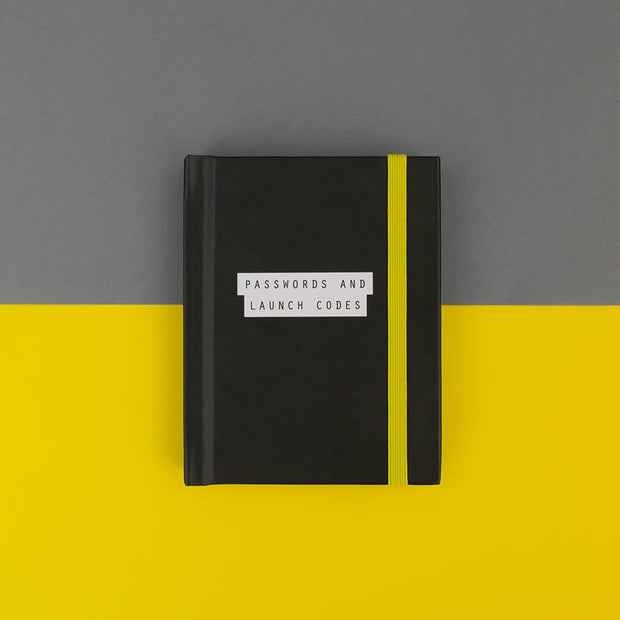Passwords & Launch Codes Password Book