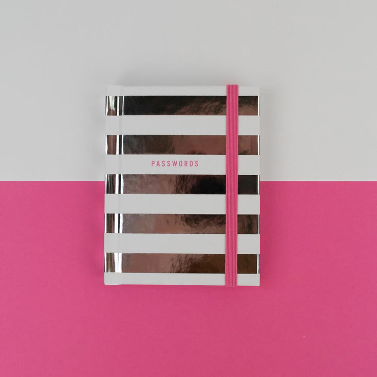 Stripey Password Book