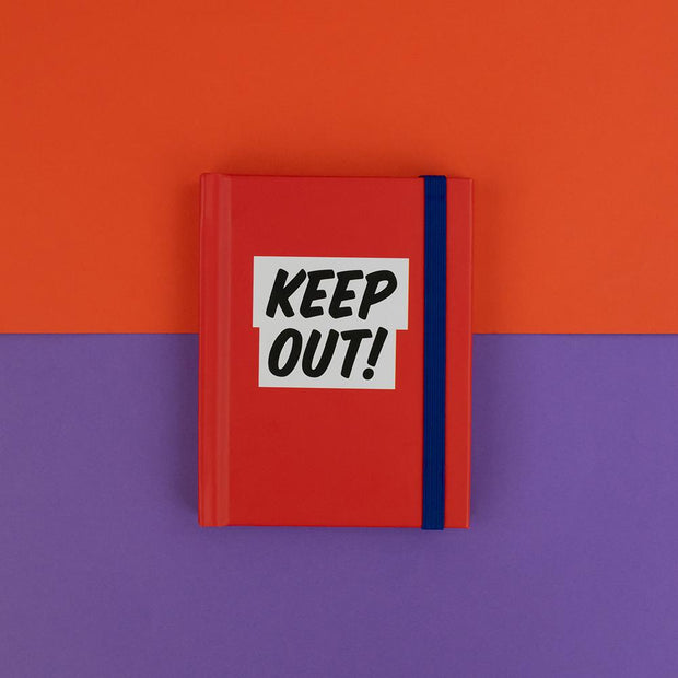 KEEP OUT! List Book - RGNB09