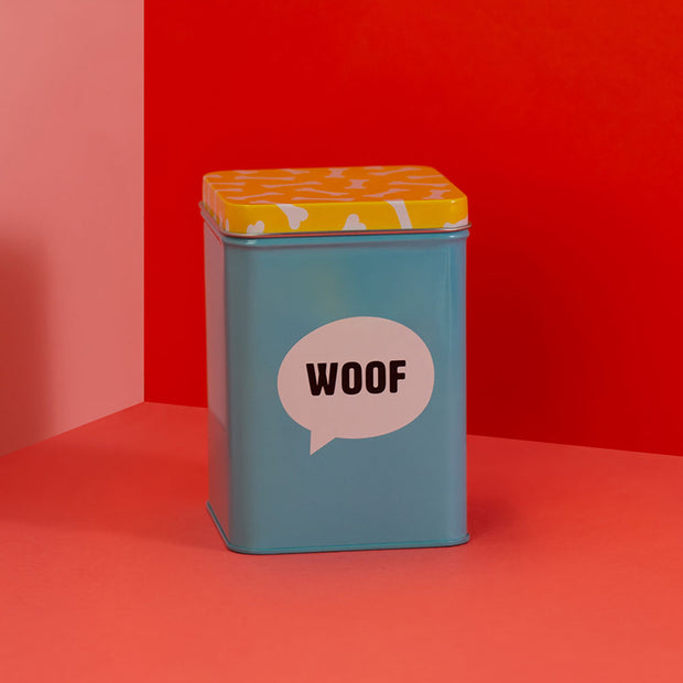 Dog Treat Storage Tin