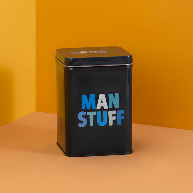 Man Stuff Tin