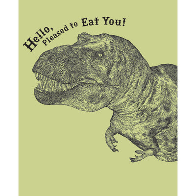 Really Good Pleased To Eat You! Card