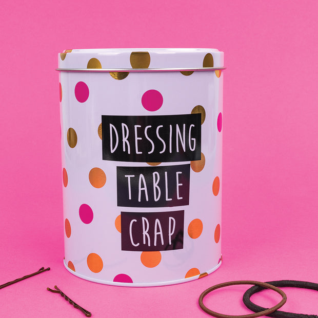 Really Good Dressing Table Crap Tin