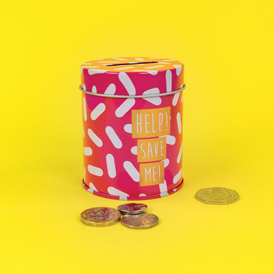Help Save Me Money Tin