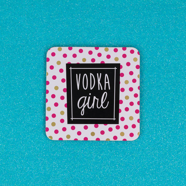 Vodka Girl Coaster