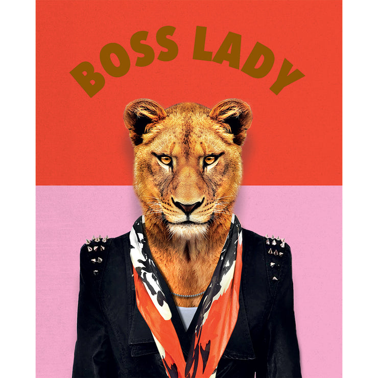 Really Good Boss Lady Card