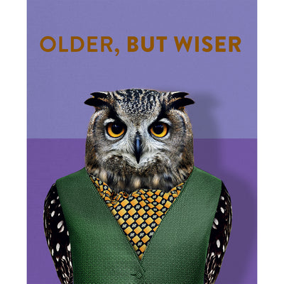 Really Good Older But Wiser Card