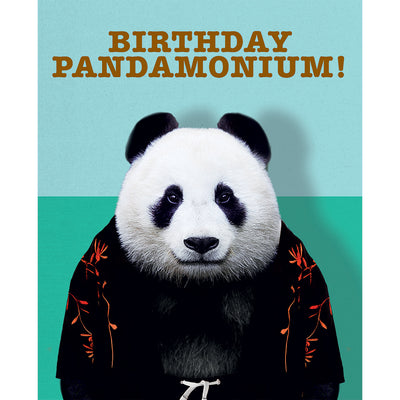 Really Good Birthday Pandamonium Card