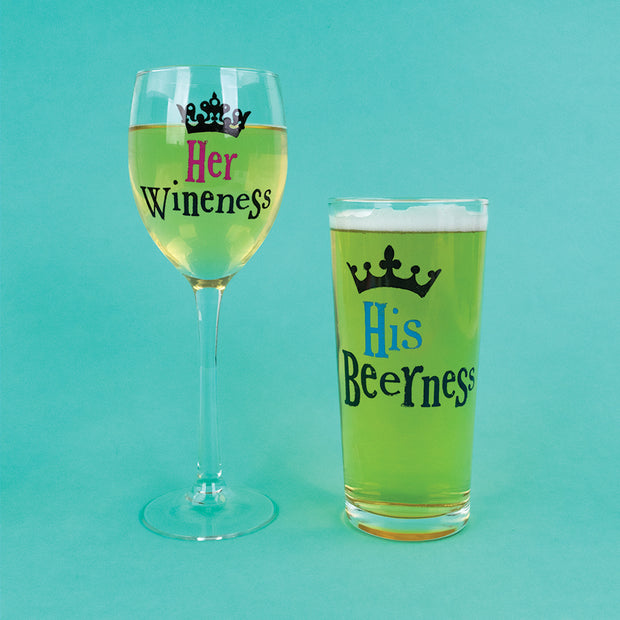 His & Hers Glasses Set - BSGLASS08