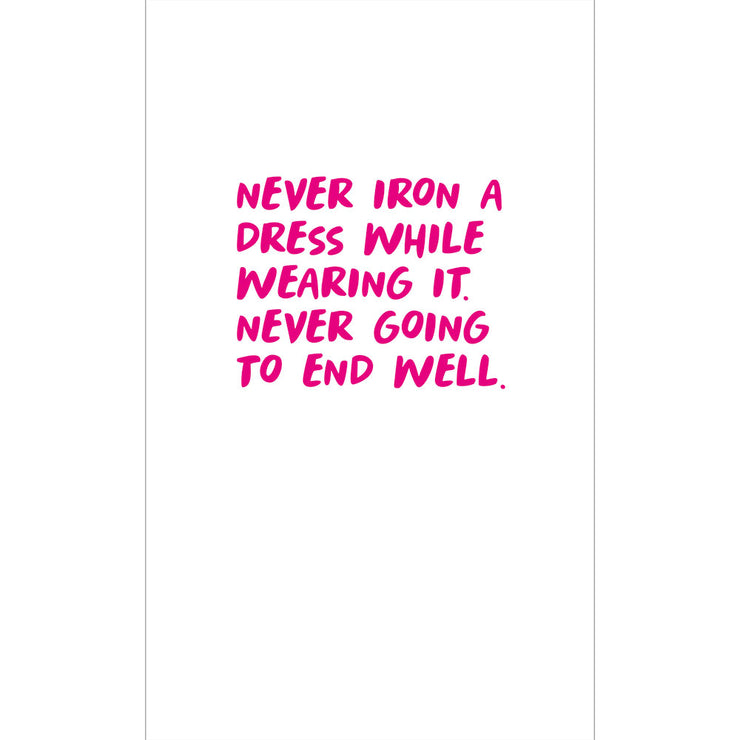 Never Iron a dress -  RS01
