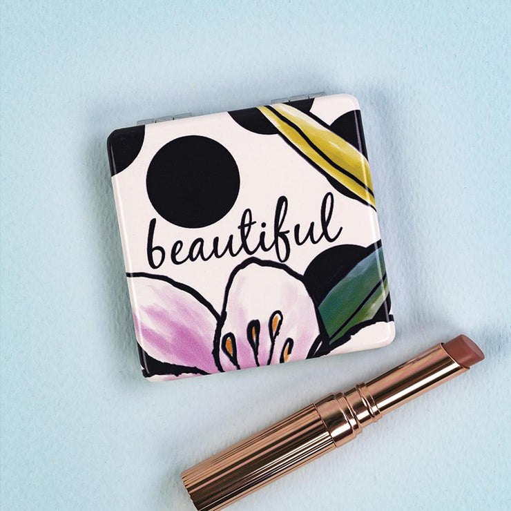 Compact Mirror Beautiful by Soul