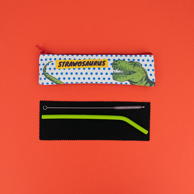Really Good Strawosaurus Reusable Straw Set