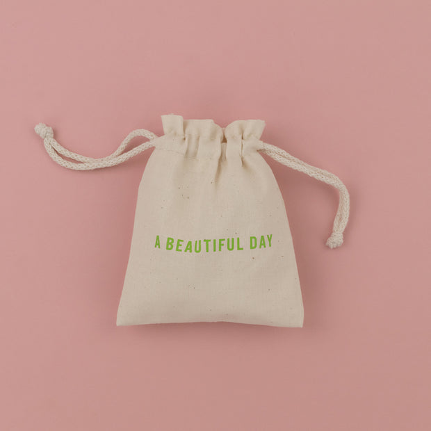 Cotton Gift Bag Small by Soul A Beautiful Day