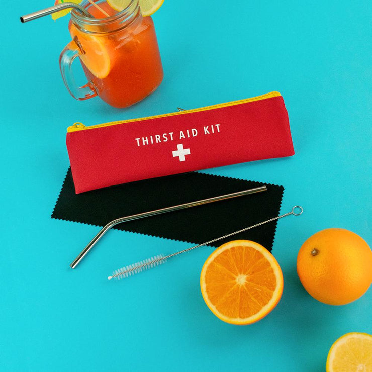 Thirst Aid Kit Reusable Straw
