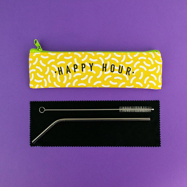Really Good Happy Hour Reusable Straw