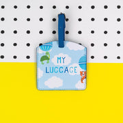 Soul Children's Luggage Tag Blue Front