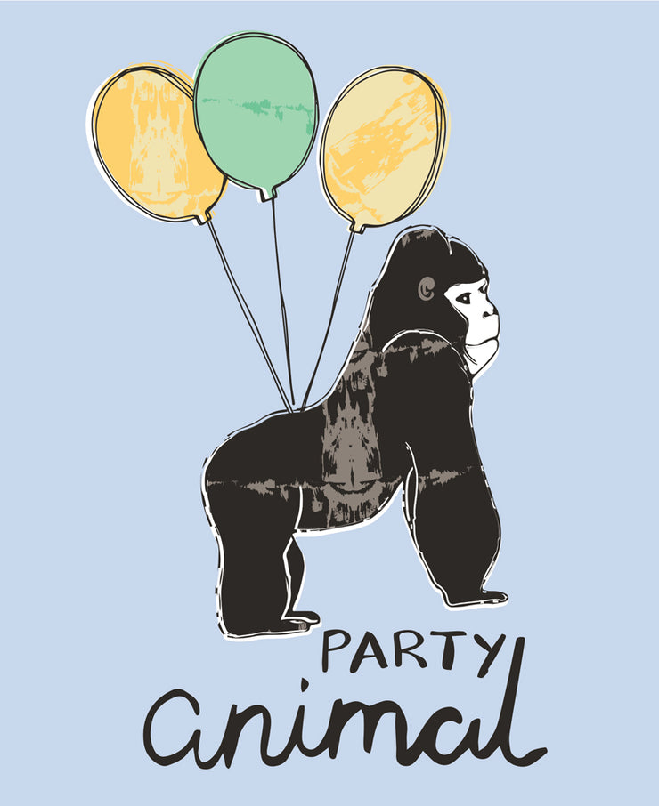 Really Good Party Animal Birthday Card
