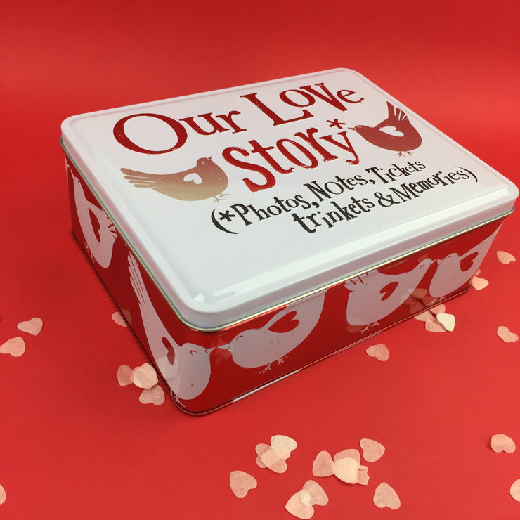 Our Love Story Tin
