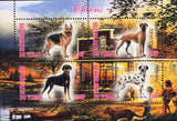 Dogs on Stamps - Stamp Souvenir Sheet