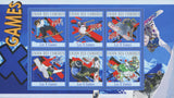 Ski Sport Souvenir Sheet of 6 stamps Mint NH