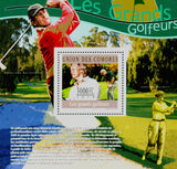 Golf Sport Souvenir Sheet Mint NH