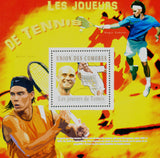 Tennis Sport Souvenir Sheet Mint NH