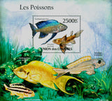 Poisonous Fish Souvenir Sheet Mint NH