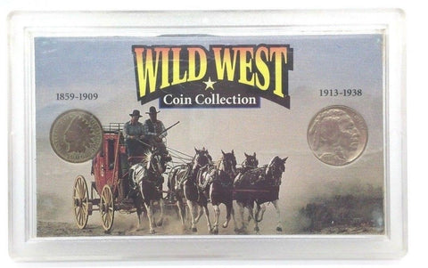 Wild West US Coin Collection Set of 2 coins