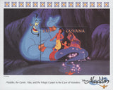 Guyana Aladdin Genie Abu Magic Carpet Disney Souvenir Sheet Mint NH