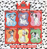 101 Dalmatians New Puppies Souvenir Sheet of 9 Stamps MNH