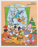 Sierra Leone Disney Mickey Mouse Christmas Party Souv. Sheet MNH