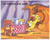 FSM Disney The Hundred Acre Wood Rabbit & Pooh Souv. MNH