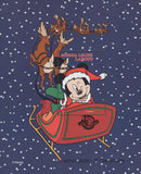 Sierra Leone Mickey Mouse Christmas Sled Snow Souvenir Sheet Mint NH