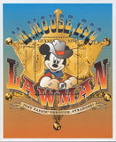 Guyana Mickey Mouse US Lawman Souvenir Sheet Mint NH