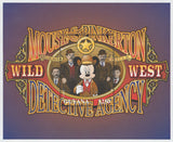 Guyana Mickey Mouse & Pinkerton Detective Agency Wild West Sov. Sheet MNH