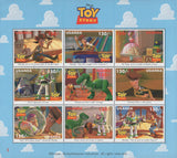 Uganda Toy Story Film Scenes Souvenir Sheet of 9 Stamps Mint NH MNH