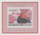 Rail Transportation Story Electric Trains ALCO RS-1 Mini Sov. Sheet Stamp MNH