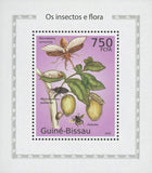 Insects And Flora Eulaema Mini Sov. Sheet MNH